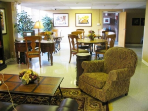 The Community Room at the NCMC Hospitality House