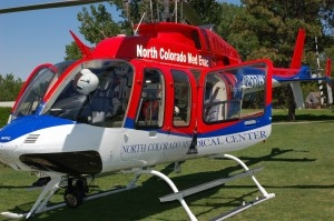 North Colorado Med Evac provides 24-hour per day air ambulance services to a 300 mile radius surrounding Greeley, CO.